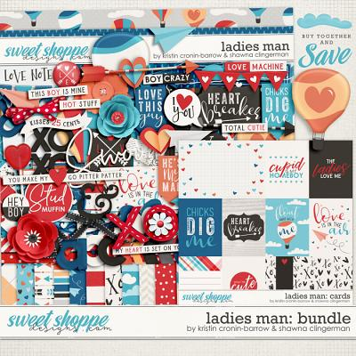 Ladies Man Bundle by Kristin Cronin-Barrow and Shawna Clingerman