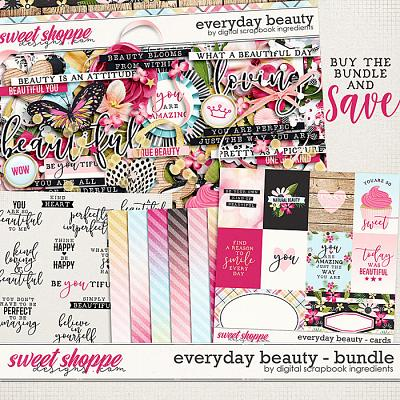Everyday Beauty Bundle & *FWP* by Digital Scrapbook Ingredients