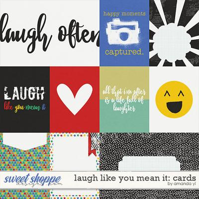 Laugh Like You Mean It: Cards by Amanda Yi
