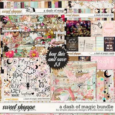 A Dash Of Magic Bundle by Simple Pleasure Designs and Studio Basic