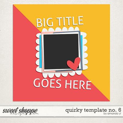 Quirky template no. 6 by Amanda Yi