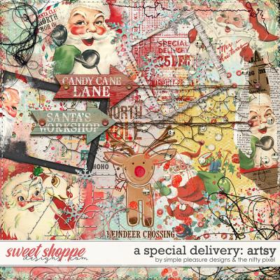 A SPECIAL DELIVERY ARTSY | by Simple Pleasure Designs & the Nifty Pixel