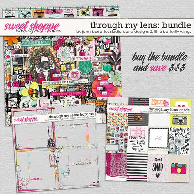 Through My Lens Bundle by Jenn Barrette, Studio Basic Designs and Little Butterfly Wings