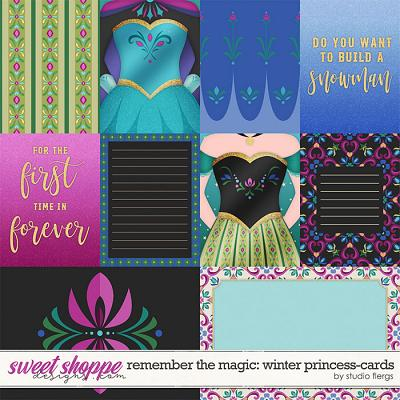 Remember the Magic: WINTER PRINCESS- CARDS by Studio Flergs