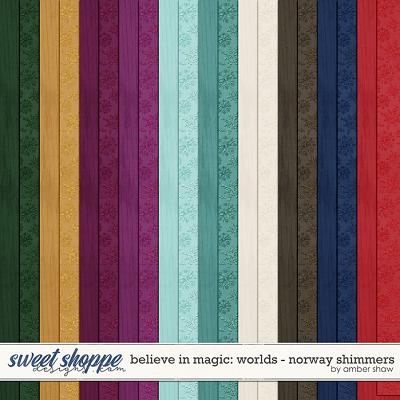 Believe in Magic: Worlds - Norway Shimmers by Amber Shaw