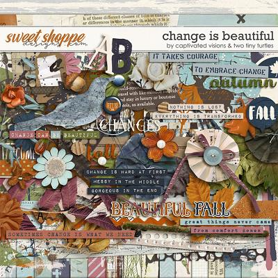 Change Is Beautiful by Captivated Visions & Two Tiny Turtles
