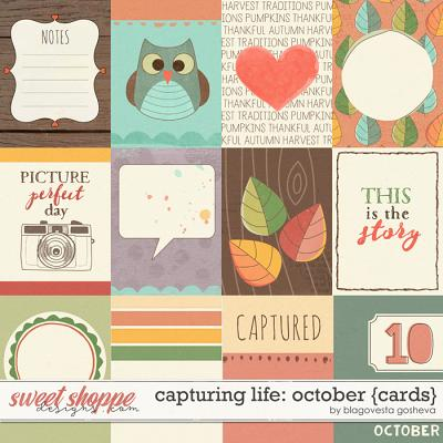 Capturing Life: October {Cards} by Blagovesta Gosheva