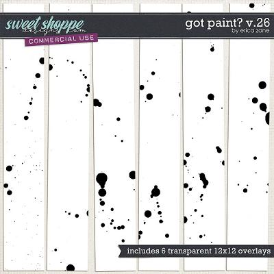 Got Paint? v.26 by Erica Zane