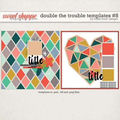 Double The Trouble Templates #8 by Studio Basic