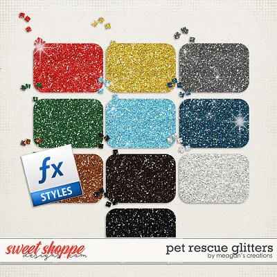 Pet Rescue Glitters by Meagan's Creations