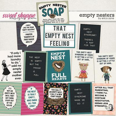 Empty Nesters: Cards by Erica Zane