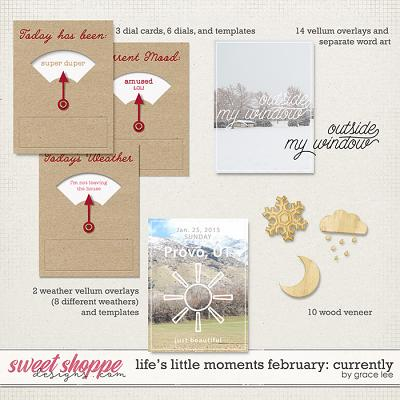 Life's Little Moments February Currently by Grace Lee