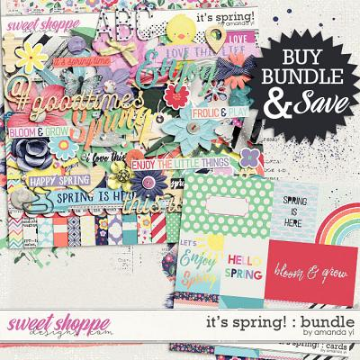 It's Spring! : Bundle by Amanda Yi