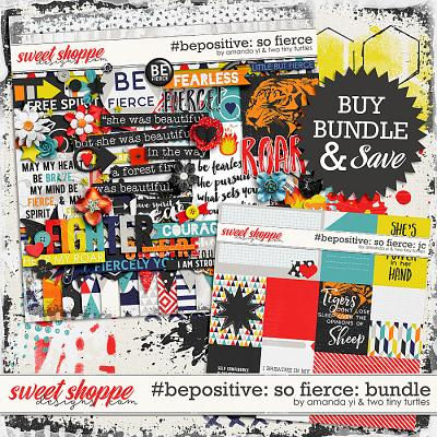 #Be Positive: So Fierce Bundle by Amanda Yi & Two Tiny Turtles