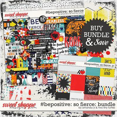 #Be Positive: So Fierce Bundle by Amanda Yi & Two Tiny Turtles