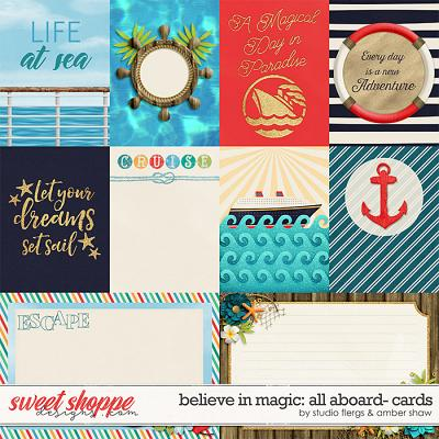Believe in Magic: ALL ABOARD CARDS- by Studio Flergs & Amber Shaw