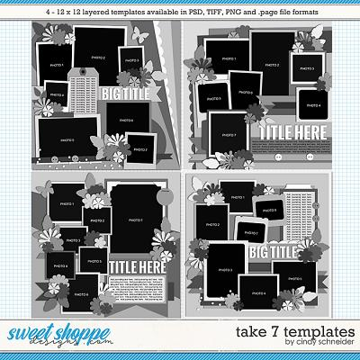 Cindy's Layered Templates - Take Seven by Cindy Schneider