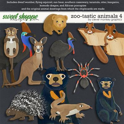 Zoo-tastic Animals 4 by Clever Monkey Graphics