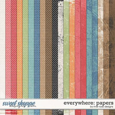 Everywhere: Papers by River Rose Designs