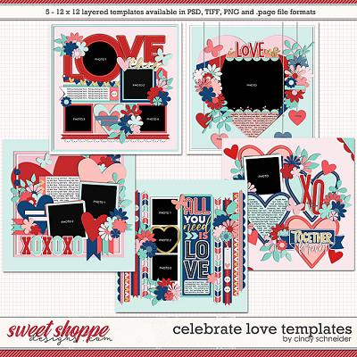 Cindy's Layered Templates - Celebrate Love by Cindy Schneider