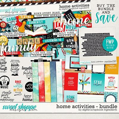 Home Activities Bundle & *FWP* by Digital Scrapbook Ingredients
