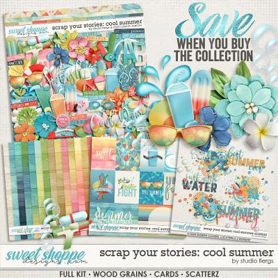 Scrap Your Stories: COOL SUMMER- Collection by Studio Flergs & Kristin Cronin-Barrow