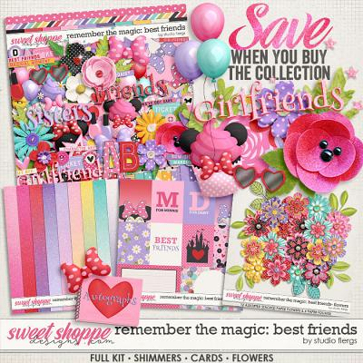Remember the Magic: BEST FRIENDS- COLLECTION & *FWP* by Studio Flergs