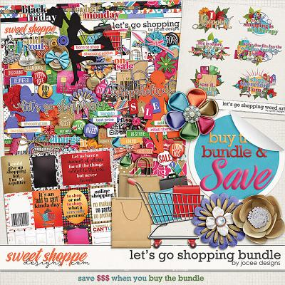 Lets Go Shopping Bundle by JoCee Designs