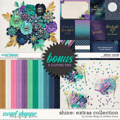 Shine: EXTRAS BUNDLE by Studio Flergs & Amber Shaw