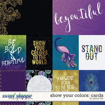 Show Your Colors: Cards by Grace Lee