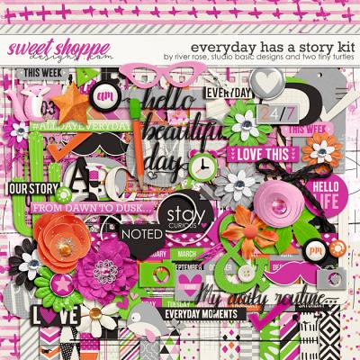 Everyday Has A Story Kit by River Rose, Studio Basic and Two Tiny Turtles