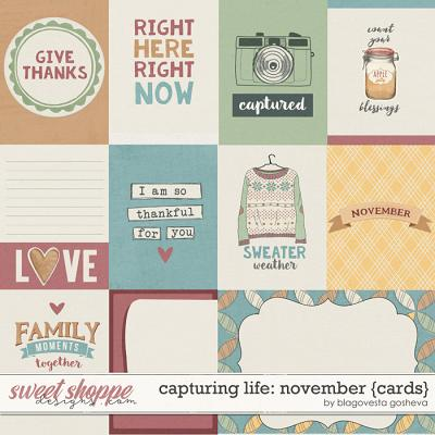 Capturing Life: November {Cards} by Blagovesta Gosheva