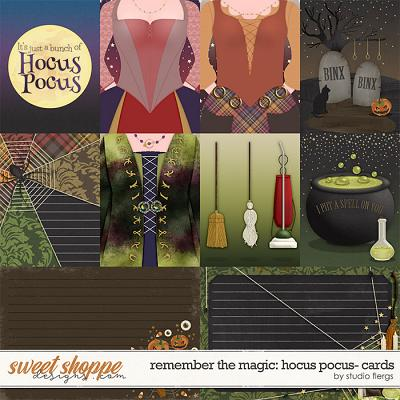 Remember the Magic: HOCUS POCUS- CARDS by Studio Flergs
