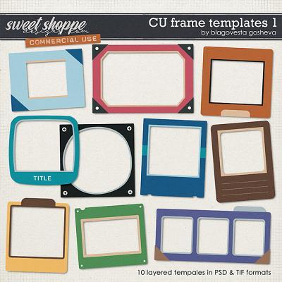 CU Frame Templates 1 by Blagovesta Gosheva
