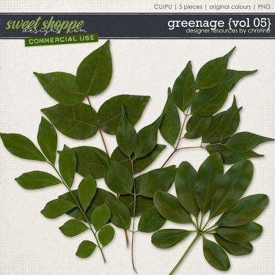 Greenage {Vol 05} by Christine Mortimer