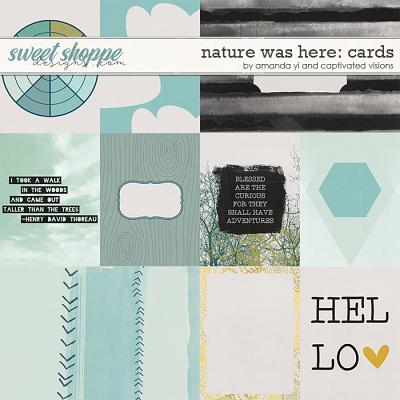 Nature Was Here : Cards by Amanda Yi & Captivated Visions