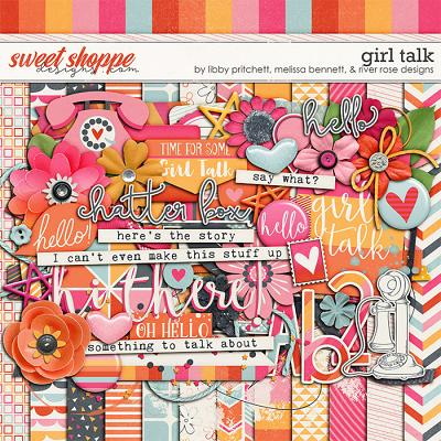 *FREE with your $10 Purchase* Girl Talk by Libby Pritchett, Melissa Bennett, and River Rose Designs