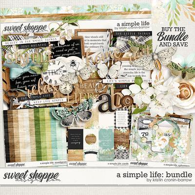 A Simple Life: Bundle by Kristin Cronin-Barrow