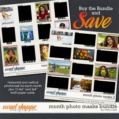 Month Photo Masks Bundle by Misty Cato