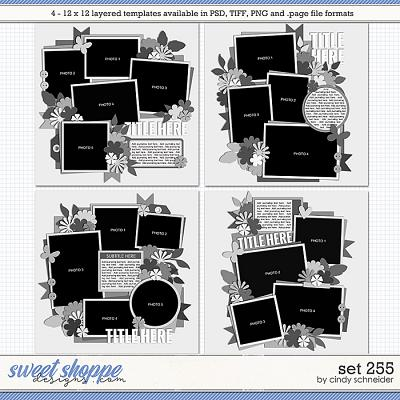 Cindy's Layered Templates: Set 255 by Cindy Schneider