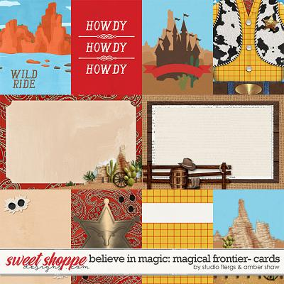 Belive in Magic: Magicial Frontier Cards by Amber Shaw & Studio Flergs