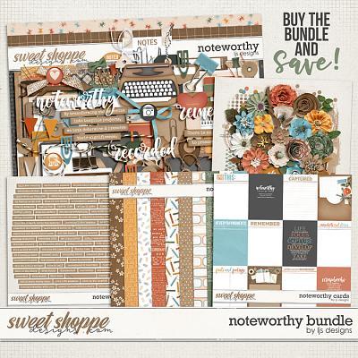 Noteworthy Bundle by LJS Designs