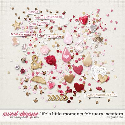 Life's Little Moments February Scatters by Grace Lee