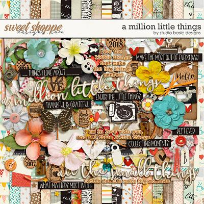 A Million Little Things Kit by Studio Basic