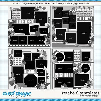 Cindy's Layered Templates - Retake Nine by Cindy Schneider