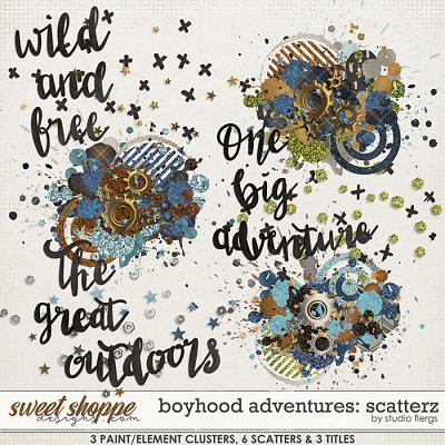 Boyhood Adventures: SCATTERZ by Studio Flergs
