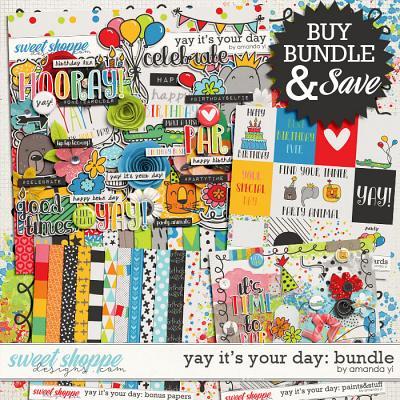 Yay It's Your Day: Bundle by Amanda Yi