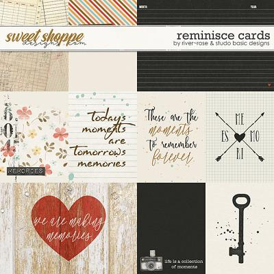 Reminisce Cards by River Rose & Studio Basic Designs