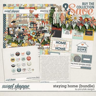 Staying Home Bundle by Ponytails