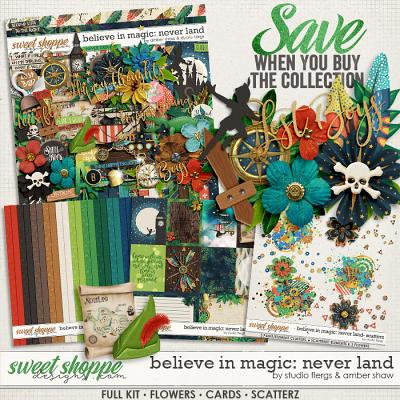 Believe in Magic: Neverland Collection by Amber Shaw & Studio Flergs